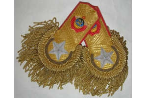 Эполеты генералиссимуса Советского Союза образца 1943 года, 3 копия