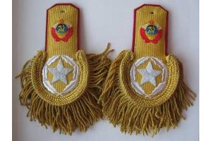 Эполеты генералиссимуса Советского Союза образца 1943 года, 4 копия