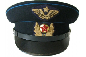 1937-pattern peaked cap for the Air Force Red Army commissioned personnel, Replica