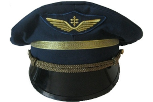 Service cap worn by pilots the French air WW2, France, Replica