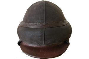 Шлем военного лётчика образца 1914 года, РИА, копия