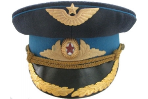 Officers parade peaked cap of 1955 pattern, Aviation of the Soviet Union, Replica