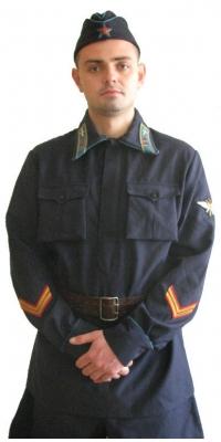 USSR RED ARMY WW2 COMMANDERS UNIFORMS SET M1935, USSR AIR FORCE lieutenant, Repro