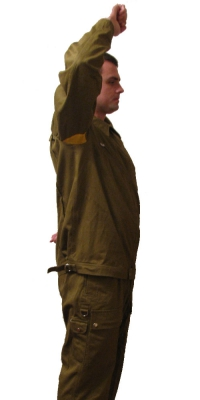 Flying summer suit Aviation USSR pilot for hot areas of the sample in 1984, Soviet Union, Repro