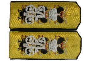 Shoulder-boards Admiral General belonging to Grand Duke Konstantin Nikolaevich, II half of the XIX century,Russian Empire, Replica