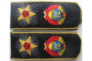 Погоны Адмирала  Флота Советского Союза, повседневные, копия