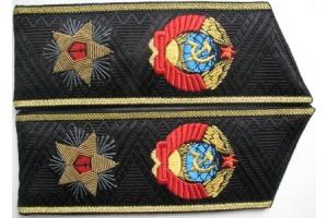 Повседневные Погоны Адмирала Флота СССР , копия