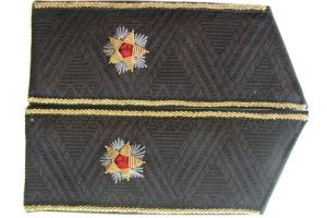 Повседневные погоны контр-адмирала СССР, копия