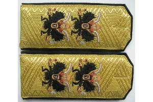 Shoulder straps Vice-Admiral of the Russian Imperial Navy, Imperial Russian Army, WW1, Replica