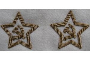 Пара нарукавных звёзд на парадную форму адмиралов СССР, копия
