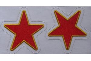 Пара нарукавных звезд форменку, копия