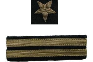 Нарукавные знаки различия старшего лейтенанта, копия