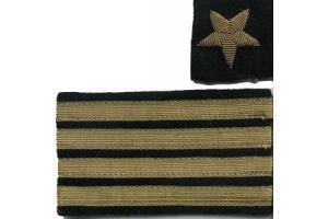 Нарукавные знаки различия капитана 2-го ранга, копия