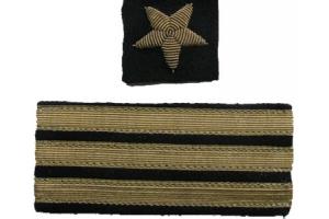 Нарукавные знаки различия капитана 3-го ранга, копия