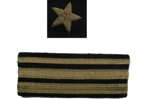 Нарукавные знаки различия Капитана-лейтенанта, копия