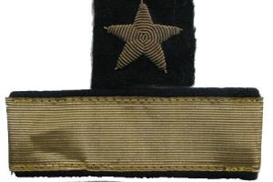 Нарукавные знаки различия Капитана 1-го ранга, копия