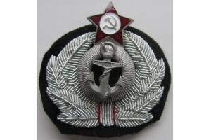 Кокарда технического состава ВМФ СССР, копия