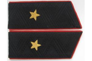 Погоны генерал майора морской пехоты ВМФ СССР, копия