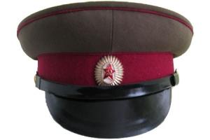 Фуражка офицера Внутренних войск МВД образца 1955 года, СССР, копия