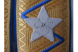 Погоны генерального комиссара госбезопасности образца 1943 года (погоны Берии), СССР , копия