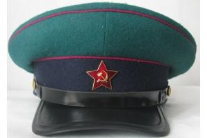 Фуражка командного начсостава (офицера) пограничных войск НКВД образца 1937 года, СССР, копия
