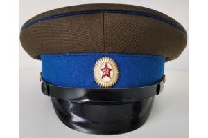 Фуражка офицера Министерства Государственной Безопасности(МГБ)образца 1954 года, СССР, копия