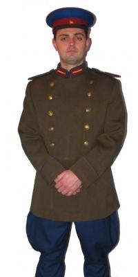 Парадная форма сержанта НКВД СССР образца 1943 года, СССР, копия