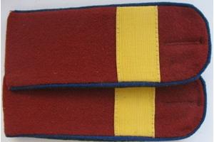 Погоны повседневные, старший сержант(погранвойска) НКВД, образца 1945 года, СССР, копия