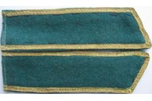 Петлицы комсостава пограничных войск НКВД образца 1940 года, СССР, копия