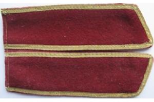 Петлицы образца 1938 года, комсостав ВВ НКВД, СССР, копия