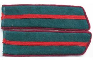 Петлицы образца 1940 года, Младший начсостав ПВ НКВД, СССР, копия