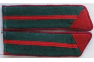 Петлицы курсанта полковой школы ПВ НКВД образца 1940 года, СССР, копия