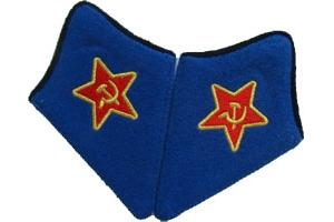 Петлицы военного атташе образца 1933 года, РККА, СССР, копия