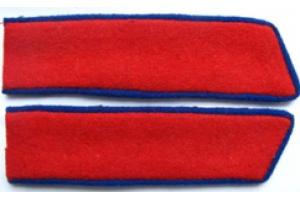 Петлицы милиции шинельные образца 1947 года, СССР,копия