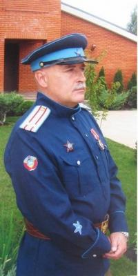 Гимнастёрка старшего нач состава милиции , копия