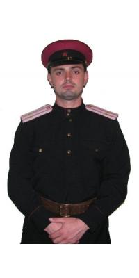 Форма Младшего начальствующего и рядового состава транспортной и водной милиции образца 1947 года, СССР, копия