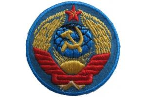 Нарукавный знак среднего старшего начальствующего состава милиции , копия