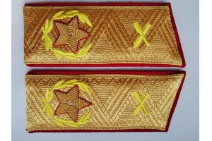 Shoulder straps of the Chief Marshal of Artillery Soviet Union, Replica