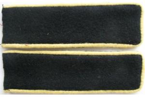 Петлицы личного состава телеграфной службы образца 1932 года, ЖД войск и НКПС, СССР, копия