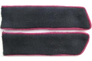 Петлицы личного состава эксплуатационной службы образца 1932-37 годов, ЖД войск и НКПС, СССР, копия