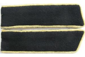 Петлицы личного состава телеграфной службы образца 1932-37 годов, ЖД войск и НКПС, СССР, копия