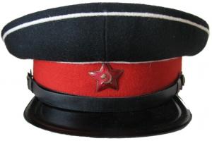 Фуражка воспитанников суворовских военных училищ образца 1943 года, СССР, копия