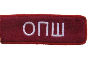 Петлицы курсантов Омской Пехотной школы образца 1924 года, копия