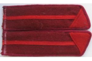 Петлицы курсантов полковой школы пехоты образца 1940 года, копия