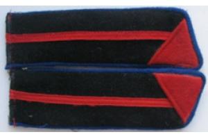 Петлицы курсантов полковой школы, технические войска образца 1940 года, копия