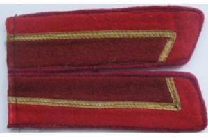 Петлицы курсанта военного училища пехоты образца 1940 года, копия