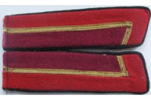 Петлицы курсанта военного училища  образца 1940 года, копия