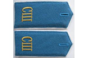 Погоны воспитанников спец школы Военно-Воздушной Авиации , образца 1943 года, СССР, копия