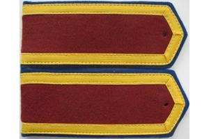 Погоны повседневные курсанта военного училища образца 1943 года, СССР, копия