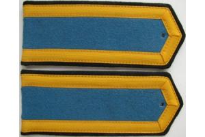 Погоны Курсантов военного училища командного профиля Авиации образца 1943 года, СССР, копия